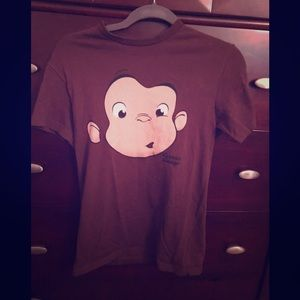 Tops - Vintage Curious George T-shirt Size Small